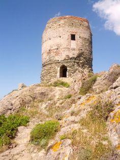 La tour génoise de Barcaggio, au bout de la Corse...