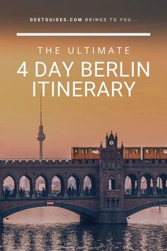 You might be wondering what to do in Berlin, especially if it's your first time here, or if you only have a few days to spend in this glorious city! This 4 Day itinerary focuses on the many things to do in Berlin as it is one of the top places to visit in Berlin Travel, Germany Travel, Visit Germany, Germany Berlin, Germany Europe, Munich, European Destination, European Travel, Places To Travel