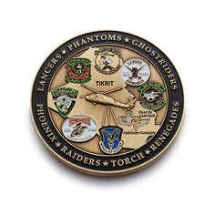 Ghostriders Military Challenge Coin