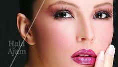 Arabic Makeup Pictures Part 5 Wedding Day Makeup, Bridal Makeup Looks, Hair Wedding, Arabic Makeup, Indian Bridal Makeup, Indian Bridal Hairstyles, Wedding Hairstyles, Makeup Face Charts, Eye Makeup