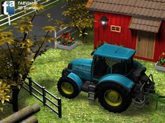 019 - Ref. FarmScene3 :: 3D Farm Scene - TAEVision Engineering - Solutions for Agriculture, Farm...