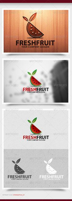 Fresh Fruit Logo Template #GraphicRiver FRESH FRUIT LOGO TEMPLATE FEATURES: - 100% RESIZABLE/SCALABLE VECTOR - ORGANIZED GROUP/LAYERS/NAMED - PRIMARY LOGO + BLACK WHITE INCLUDED - PRINT READY FILE INCLUDED: - AI / EPS10 / PDF FONT USED: - Open Sans – .fontsquirrel /fonts/open-sans Created: 2November13 GraphicsFilesIncluded: VectorEPS #AIIllustrator Layered: Yes MinimumAdobeCSVersion: CS Resolution: Resizable Tags: 2013logo #2014logo #attractive #business #businesslogo #cmyk #corporate…