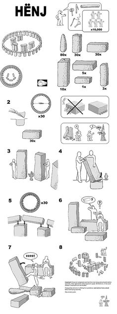 If Stonehenge came with Ikea instructions