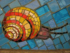 Living in NYC, my children and I are always in awe of the mosaic tiles in subway stations. There are some beautiful ones to look at, and a few of my daughter's favorites include:  81st Street B/C line - American Museum of Natural History Station