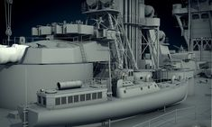 ArtStation - IJN Fuso(WIP), Dmitriy Mironov Imperial Japanese Navy, 3d Modelle, Navy Ships, Battleship, Warfare, Military, Construction, Models, Drawing