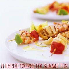 8 Kabob Recipes for Summer Fun