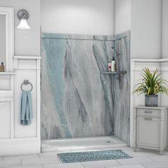 "FlexStone 60""X60""X80"" Adaptable Shower Kit at Menards®"