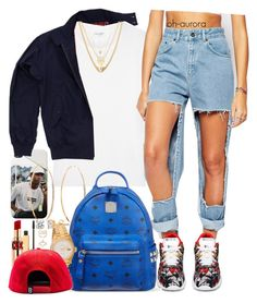 """""""Bangerz"""" by oh-aurora ❤ liked on Polyvore featuring Accessorize, Fred Perry, Yves Saint Laurent, The Ragged Priest, Reebok, Lana, MCM, Stila, Rolex and Ettika"""