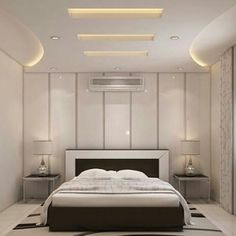 Simple and Crazy Tricks Can Change Your Life: False Ceiling With Fan Interior Design false ceiling living room with tv unit.False Ceiling Wedding Chandeliers false ceiling design for showroom. Home Ceiling, Ceiling Design Bedroom, Bedroom False Ceiling Design, Bedroom Design, Luxurious Bedrooms, Modern Ceiling, Bedroom Ceiling, Living Design