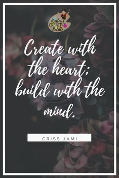 What does your heart and mind says? It say's start to be creative! Come join us on our free workshops!