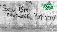 Biliyor muydun ? /// Küfreden insanlar daha dürüst oluyor! Street Graffiti, Street Art, Text Quotes, Funny Quotes, Sad Stories, Argo, Cool Words, Positive Quotes, Funny Pictures