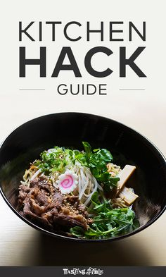 Make homemade ramen without sucking 20 hours out of your life and more with these hacks for your kitchen appliances and gear.