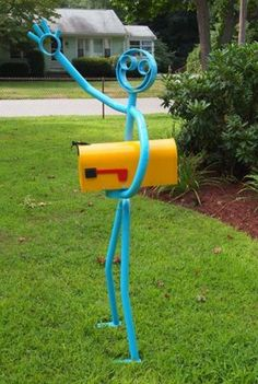 One's mailboxes are one of the first contacts with the household. Being in the front yard, in an accessible area for the postman, it often enters the