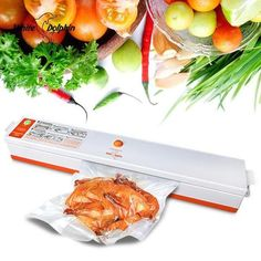 Household Food Vacuum Sealer Machine China Sealing Saver Keep Fresh Food Packaging Machine Vacuum Sealer Packer Bags -. Cheap Vacuum, Vacuum Bags, Food Packaging Machine, Electric Foods, Packing Machine, Vacuum Sealer, Packers, Plastic Cutting Board, Vacuums