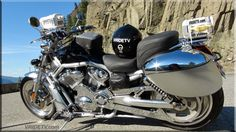 Our Harley Davidson Vrod camera bike is equipped with two SONY Professional High Definition video cameras capturing all the action. Check out the footage at http://www.vridetv.com