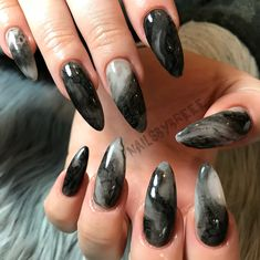 Witchy Nails, Goth Nails, Grunge Nails, Pointed Nails, Stiletto Nails, Summer Acrylic Nails, Spring Nails, Summer Nails, Fire Nails