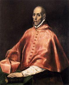 IDLE SPECULATIONS: El Greco: Portrait of Cardinal Juan Pardo de Tavera
