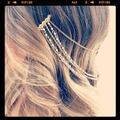 hair chain...luv these!