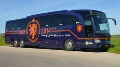 Spelersbus wk 2014