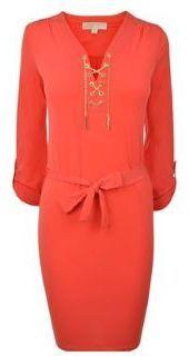 MICHAEL Michael Kors Chain Tie Dress on shopstyle.com.au