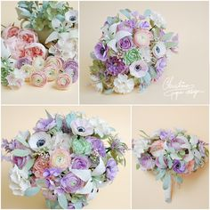 Christinepaperdesign - bridal bouquet2