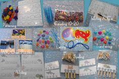 Kindergarten Under the Sea Learning Kit