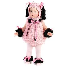 pink poodle costume