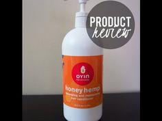 Oyin Handmade Honey Hemp Detangler & Conditioner