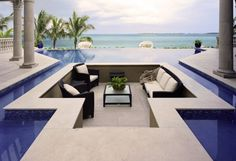 this brings new meaning to Sunken Living room!