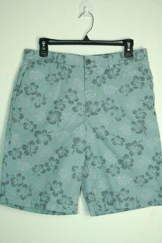 2597b49e Mens Uniqlo x Iolani Hawaiian Classics shorts bermuda walking floral size M