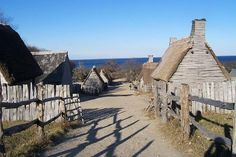 Plimoth Plantation, Plymouth, Massachusetts  Every American schoolchild knows about Plymouth -- about how a band of English pilgrims, fleeing religious persecution, left Europe on the Mayflower and set up a settlement at Plymouth in December 1620. What you won't know until you visit is how small everything was, from the perilously tiny Mayflower to the landing point at Plymouth Rock. But rather than feel disappointed, children may be awed to realize just how difficult this venture was.