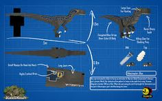 JurassicCraft Velociraptor Blue Jurassic Craft, Jurassic World, Fanart, Board, Fit, Blue, Dinosaurs, Shape, Fan Art