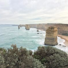 Who would of thought I would get this far? #scenery #surreal #amazing #travel #high #12apostles #roadtrip #nofilter #vsco #vscocam #instatravel #instaphoto #greatoceanroad #melbourne #victoria #vic #australia by annie_boox http://ift.tt/1ijk11S