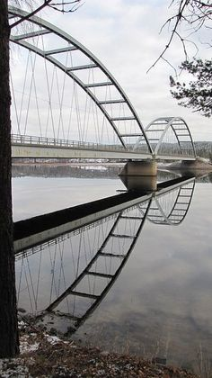 Broreflektion/ Bridge reflection