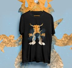 GREYMON DIGIMON TAICHI BLACK T-Shirt Unisex Size S,M,L,XL | DESIGN1512 #Unbranded #ShortSleeve