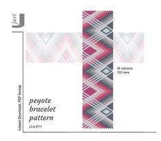 Peyote Patterns, Bracelet Patterns, Beading Patterns, Beaded Bracelets, Cross Stitch Borders, Brick Stitch, Sell Items, Tutorial, Bracelets