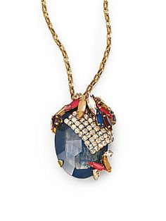 Erickson Beamon Happily Ever After Pendant Necklace