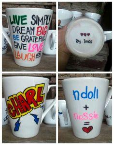 DIY Sharpie mug :)