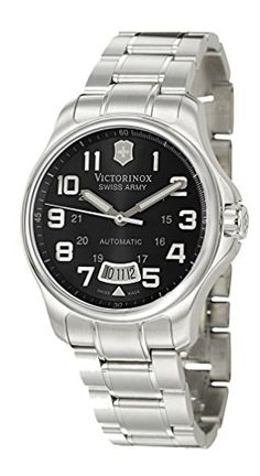 Men  Watches - Victorinox Swiss Army Mens 241370 Officers Mecha Watch >>> To view further for this item, visit the image link. (This is an Amazon affiliate link)
