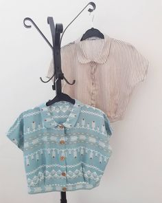 Staying bright today with our Crop Shirts. Get them on our Etsy shop. Link in bio. Crop Shirt, Summer Outfits, Things To Come, Ruffle Blouse, Spring Summer, Stripes, Women's Fashion, Bright, Etsy Shop