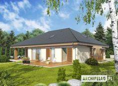 Eris II (wersja C) - projekt domu - Archipelag Gazebo, House Plans, Outdoor Structures, Mansions, House Styles, Interior, Home Decor, Ideas, Cottage House Plans