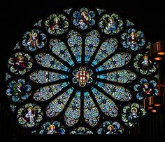 Milwaukee Color Rose Window, Gesu Parish, Milwaukee WI by adam_mcintosh, via Flickr