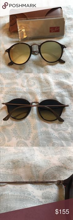 28eb982852e5c Ray-Ban Sunglasses Brand new never used Ray Ban sunglasses with original  case and lens cleaner.
