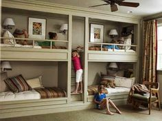 +Tony Velazquez H I have to say what a brilliant way to accommodate four sleeping spaces.   This is perfect for guests as they see fit how to they want to utilize or lounge out the rest of the space.   Interior Design Community - Discussion - Community - Google+