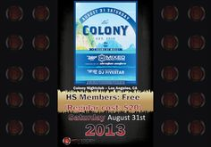 High Society Club Offer - Colony Nightclub – http://play.sbe.com/show.cfm?id=104581