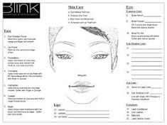 croqui de rosto para maquiagem– Google Поиск Makeup Face Charts, Face Makeup, Mary Kay, Daily Makeup Routine, Face Template, How To Color Eyebrows, Makeup Course, School Makeup, Eyeshadow Primer
