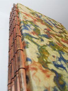 ellen vargo ... ten thirty-six art: Chopsticks Spine Handmade Book