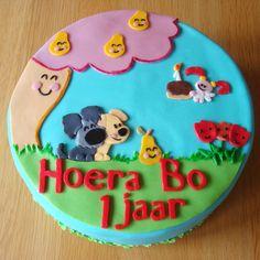 Woezel & Pip taart voor Bo haar 1e verjaardag