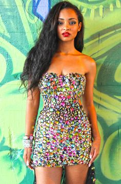 Homecoming DressesEvening Dresses by CLAUDINE for Alyce Paris2271Smashing Style as worn by JESSICA JARRELL!