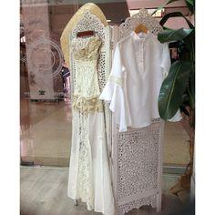Elegancia y frescura! #Moda